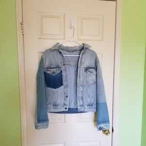 Levi's Patchwork Denim Jacket